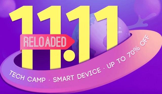 5677 11.11 Reloaded pe gearbest, adica noi promotii din China!
