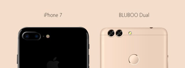 bluboo-dual Bluboo Dual va veni cu o camera duala, posibil clona iPhone 7!