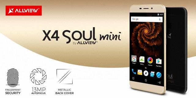 allview x4 soul mini lansat, cel mai mic din gama