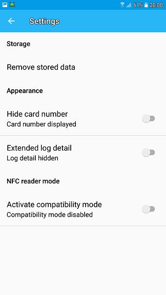 aplicatia pentru telefon care iti citeste datele de pe card