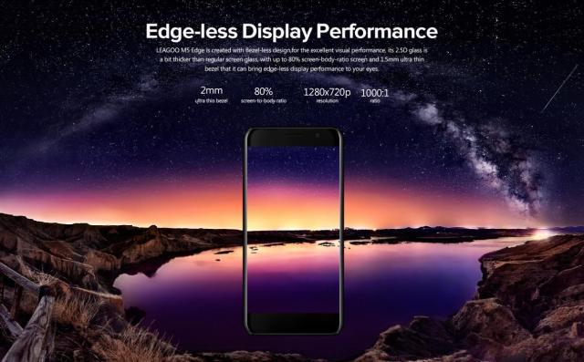leagoo m5 edge, au inceput rezervarile si discount de 20 usd (p)