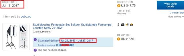 comenzile de pe ebay, transport rapid din europa fara taxe