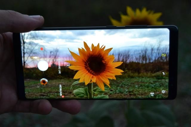 Galaxy Note 8 vs aparat foto DSLR samsung galaxy note 8