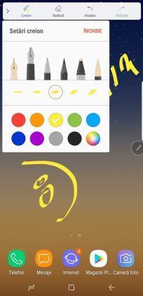review (3) galaxy note 8, o.s, antutu, s pen si alte teste