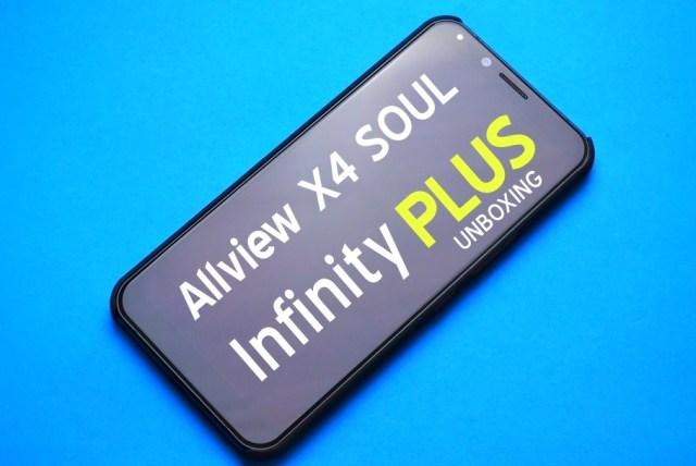 Allview X4 Soul Infinity PLUS allview x4 soul infinity plus - unboxing