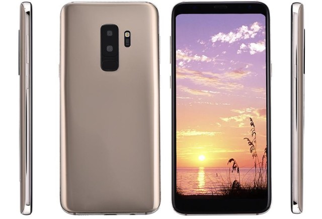 "clona de samsung galaxy s9 plus, display de 6"", pret 113 usd"