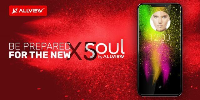 "allview x5 soul devine oficial, telefon cu ""notch""!"