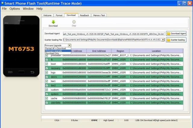 Elephone-OTA-Update-Firmware-Upgrade