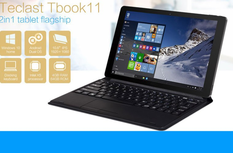 Get Teclast Tbook 11 Dual OS Tablet PC