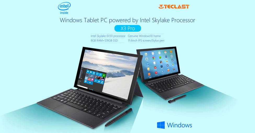 Teclast X3 Pro 2 Tablet PC Comes With Windows