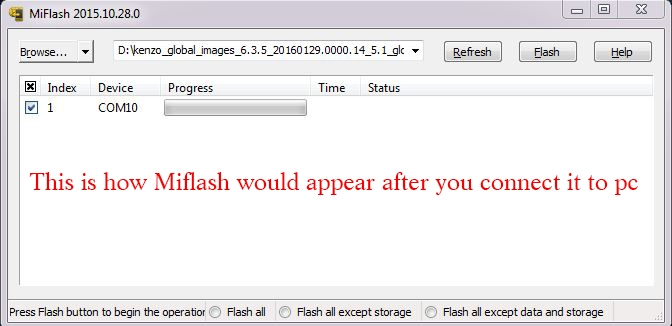 xiaomi note 3 unlock bootloader mi flash tool 1