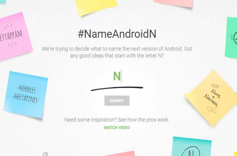 Suggest A Name For the Android N androidsage
