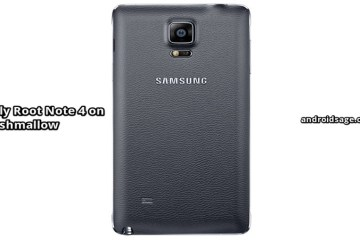 Root Galaxy Note 4 on Android 6.0.1 Marshmallow SM-N910H-F-T-P-C-R4