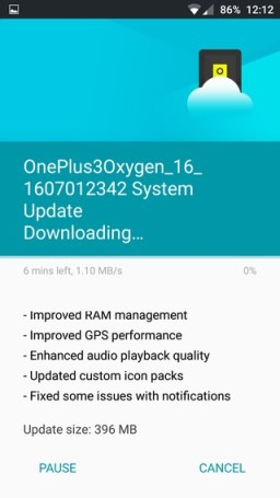 Download Oxygen OS 3.2.0 for OnePlus 3 Install
