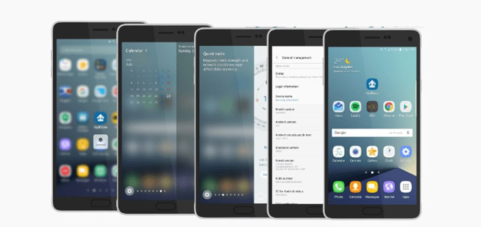 Porting Galaxy Note 7 Apps and ROM For Note and Note Grace UX With HydROM