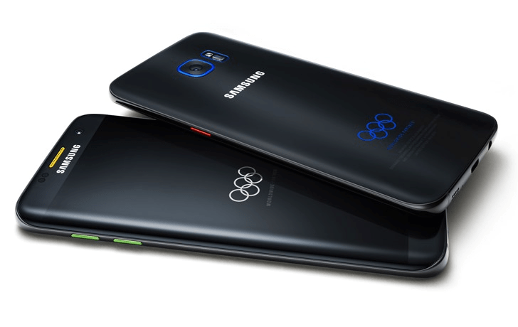 Samsung Galaxy S7 Edge Olympic Theme Special Edition