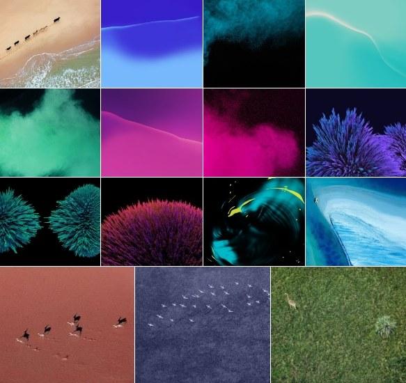 Download Nexus 2016 stock wallpapers from Sailfish & Marlin