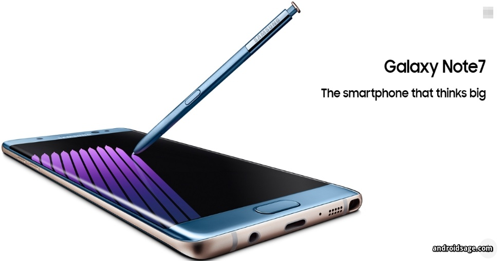 Download & install Samsung Galaxy Note 7 latest stock firmware