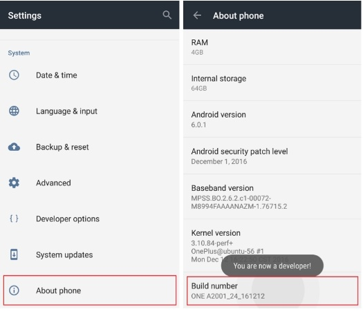 Download OnePlus 2 Oxygen OS 3.5.5 with official VoLTE Support Oxygen OS 3.5.5 O
