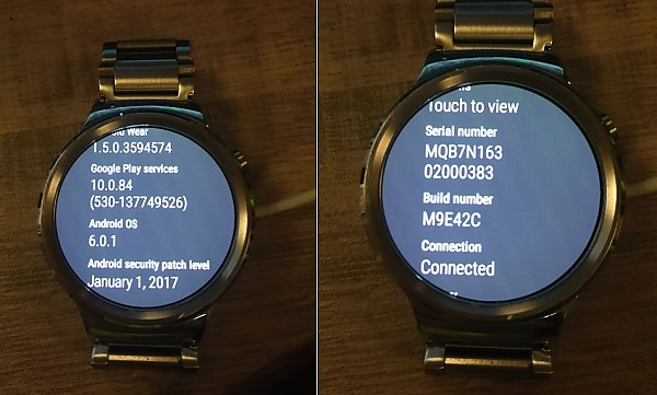 Download Android Wear 1.5 January 2017 Security Update huawei watch ota