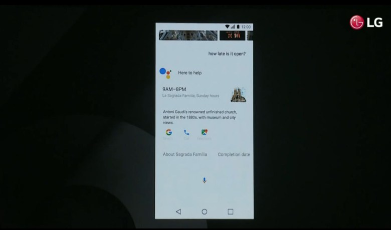 Google Assistant for LG G6