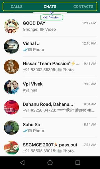 Whatsapp old version