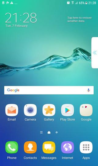 samsung galaxy note 5 Home screen