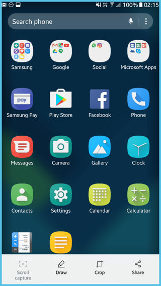 Download Samsung galaxy S8 Plus Launcher for all Galaxy devices infinity user interface