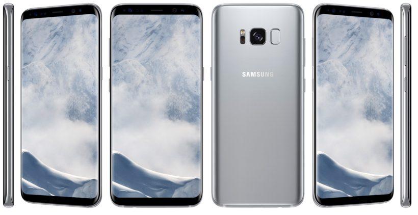samsung-galaxy-S8-arctic silver-androidsage