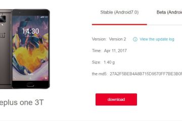 Download OS hydrogen OS package Stable H2OS 3.0 Version 2 released for OnePlus 3 and 3T
