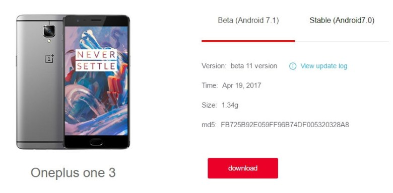 Download OS hydrogen _ oneplus one 1, oneplus 2, a mobile phone plus X, a mobile phone plus 3, plus a hydrogen 3T phone system OS package download Brush - Google Chrome 2017-04-19 18.50.06