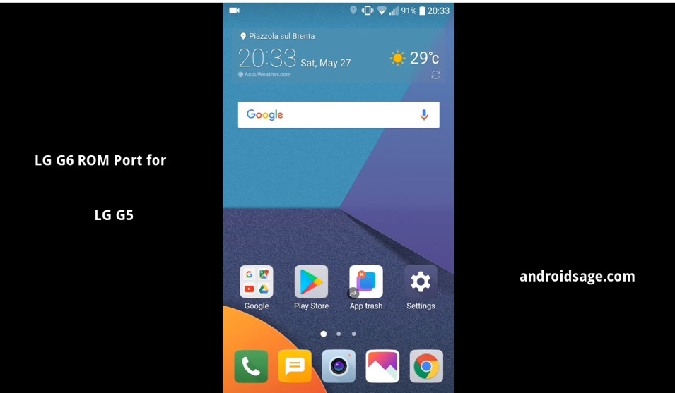 Download latest Fulmics ROM 3.0-3.1 that Brings the LG UX 6.0 to the LG G5