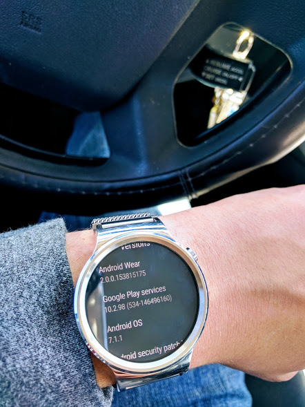 Huawei Watch Android Wear 2.0 OTA
