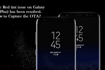 T-Mobile Galaxy S8 red tint fix OTA G950USQU1AQDE build