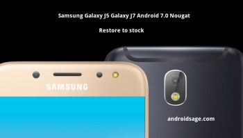 Restore to Stock: Samsung Galaxy J7 2016 Android 6 0 1 Marshmallow