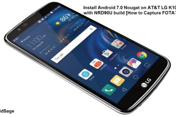 Install Android 7.0 Nougat for AT&T LG K10 2016