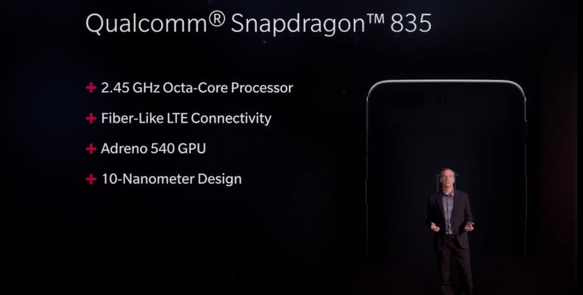 OnePlus 5 - Launch Live Event snapdragon 835 specifications