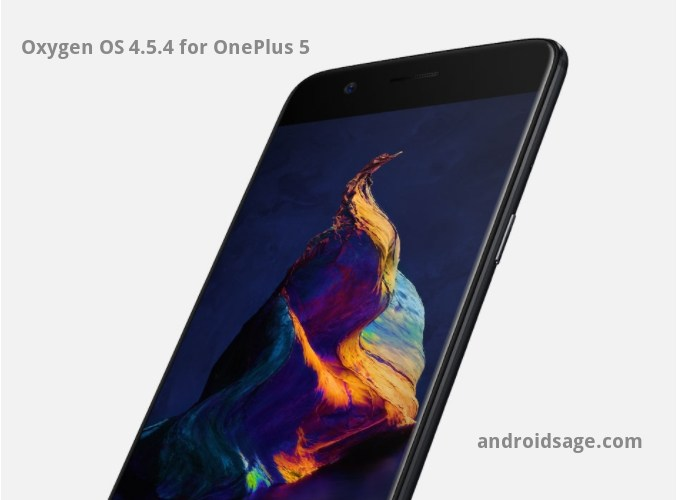 OnePlus 5 - Oxygen OS 4.5.4 OTA update downoad and install