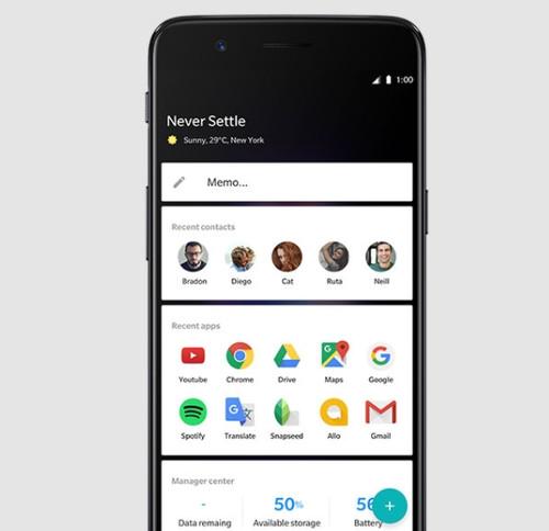 OnePlus 5 stock apps