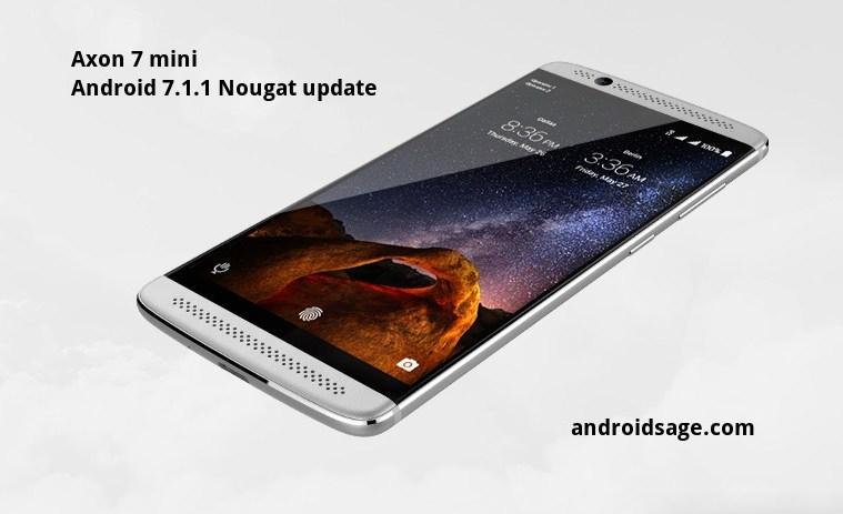 ZTE Axon 7 Mini - How to Install ZTE Axon 7 Mini Android 7.1.1 Nougat firmware update Download OTA & Full ROM
