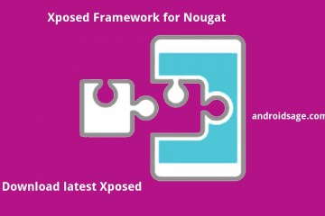 Download and install latest Xposed Framework 88 SDK 25 for Android 7.1.2 Nougat