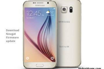 Galaxy S6 (Sprint) Nougat firmware update