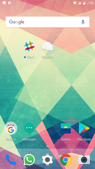 OnePlus Launcher v2.1 Screenshot