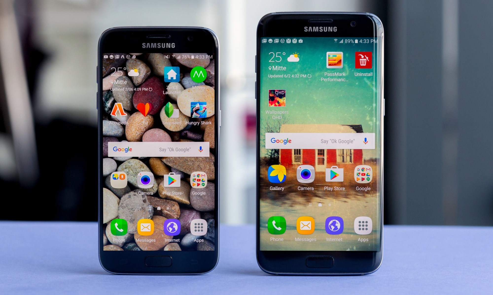 S7 and S7 Edge