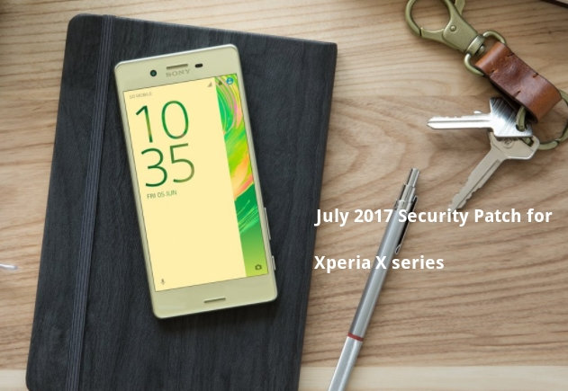 Xperia X Official Install July 2017 security patch based on Android 7.1.1 Nougat [34.3.A.0.206]