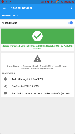 Xposed working on Android 7.1.2 Nougat