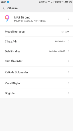 Xiaomi Redmi Note 3 MIUI 9 ROM port screenshot 2
