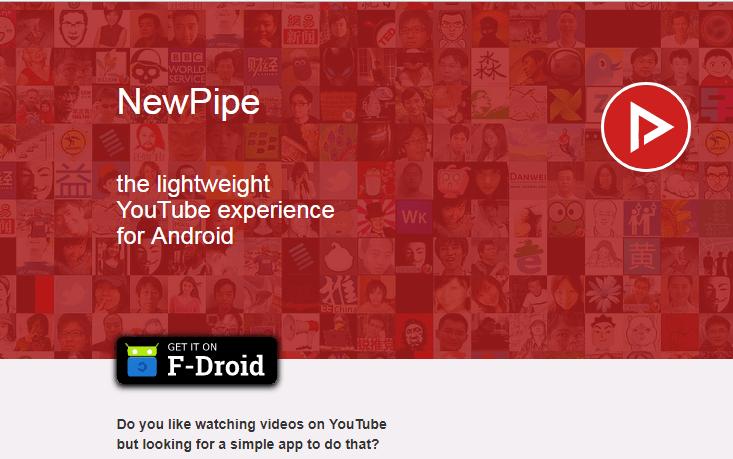 NewPipe App v0.10.0