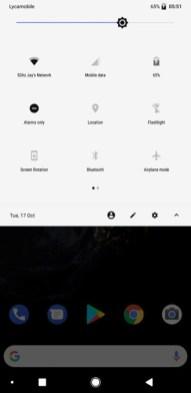 Google Pixel 2 ROM port for Galaxy S8-S8+ screenshot 1