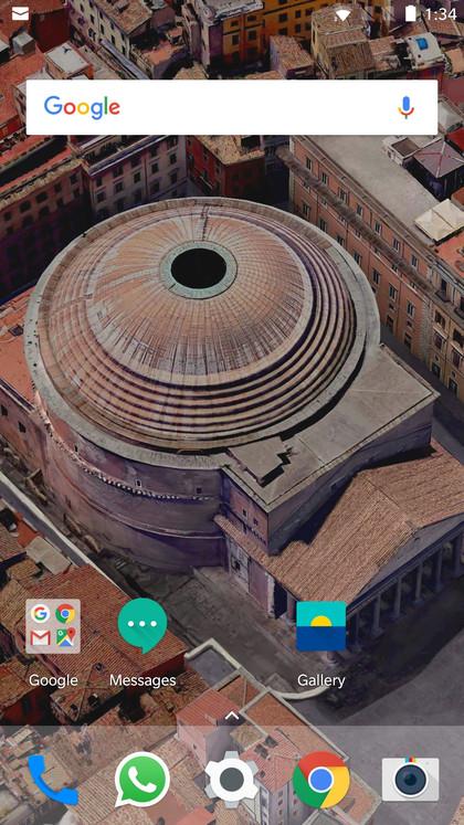 Google Pixel 2 XL live wallpapers Screenshot 20171005 133405